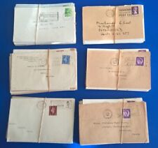 400 GB Commercial mail whole envelopes Slogan postmark as they come 1960s-90s