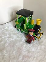 Postman Pat Greendale Rocket friction train and figures