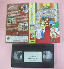 VHS film IL GATTO CON GLI STIVALI e altre favole SKORPION animazione(F159)no dvd