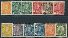 CANADA #162-173 SHORT SET F / VF OG NH CV $268 BR6360
