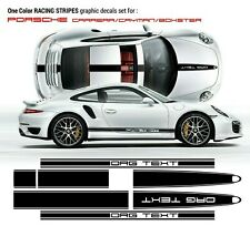 Porsche Carrera Cayman/ Boxster Vinyl Decal Racing Stripes kit in one color