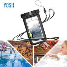 YOSH Dustproof Waterproof Phone Case Dry Pouch iPhone11 XS Samsung S8 Universal