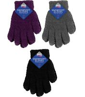 Ladies Womens Super Soft Warm Cosy Thermal Winter Gloves Snowsoft One Size