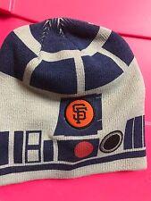 SAN FRANCISCO GIANTS MLB BASEBALL STAR WARS R2D2 R2-D2 SGA BEANIE Hat Sga Sf New