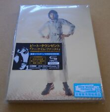 PETE TOWNSHEND Who Came First 2018 Japanese promo sample 2 X SHM-CD SEALED