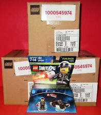 Lot of 18 (3 Sealed Cases) Lego Dimensions - Lego Bad Cop+Car Fun Pack 71213