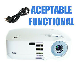 NEC MultiSync VT48 LCD Projector Portable - Acceptable Functional w/Power Cable
