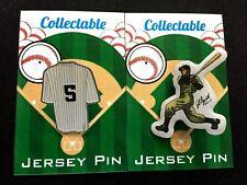 New York Yankees Joe DiMaggio lapel pins-Classic Collectibles-Great 4 caps!