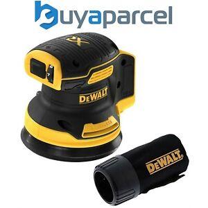 Dewalt DCW210N Cordless Brushless 18v XR Random Orbital Sander 125mm + Dust Bag
