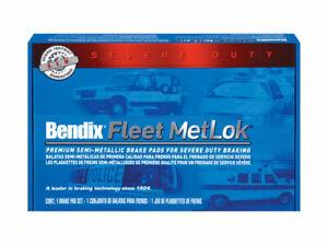 Front Brake Pad Set Bendix 2HSQ52 for Lincoln Town Car 2001 1998 1999 2000 2002