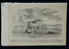 CIVIL WAR BOOK PLATE 16 X 11.5 INCH TOWN OF PADUCAH KENTUCKY