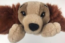 DISNEY Store LADY AND THE TRAMP PLUSH Pup Lying Puppy Dog Stuffed Toy Nearly New