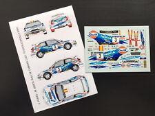 DECAL 1:43 TOYOTA COROLLA WRC #3 J. PURAS / M. MARTI - RALLYE CANGAS 2001