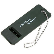 Emergency Survival Whistle Rescue Tool Signal Sound Outdoor Camping Hiking XBCA
