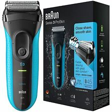 Braun Series 3 ProSkin 3010s Men's Rechargeable Wet&Dry Electric Cordless Shaver
