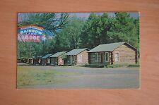 Rare Vintage Photograph Postcard RAINBOW LAKE LODGE Lakeside Arizona C1970'S