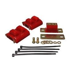 Energy Suspension 3.1130R Motor And Transmission Mount Red Zinc Finish Poly