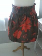 Skirt by KILT Size 10 New Zealand Pull On Short dirdl Floral [Not a Kilt]