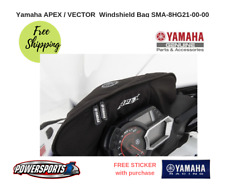 YAMAHA APEX VECTOR SNOWMOBILE WINDSHIELD BAG PACK LUGGAGE SMA-8HG21-00-00