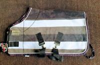 "Eskadron Fleece Rug. Brown/Cream /Taupe. 2'9"". New with tags."