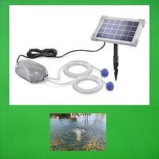 2,5 W solare aeratore da stagno Pompa Ossigeno giardino NUOVO