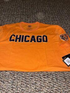 Chicago Bears 47 Brand Franklin Fieldhouse Logo SS T-shirt XXL