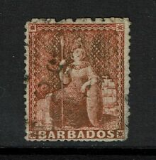 Barbados SG# 57 - Used / Pulled Right Perf - Lot 090317