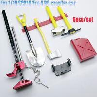 Für 1/10 SCX10 Trx-4 RC Metall Schaufelhammer Tool Simulations Crawler-Zubehör