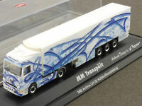 Herpa 121088 MB Actros LH 02 SZ MM Transport Airbrush TOP OVP 1604-19-10