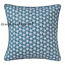 "Ikea Lovkoja Cushion Cover 20""x20"" Blue Pillow Cover Case LÖVKOJA Floral Dots"