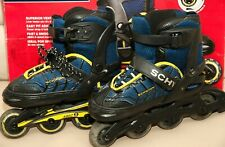 Awesome Schwinn Boy'S Adjustable In-Line Skate Blue/Black 1-4 5-Speed Bearings