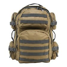 NcStar Vism Tactical Backpack, Tan, Urban Gray Trim  (CBTU2911)