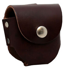 Belt Holster for Snuff/Tobacco Chew - Brown Leather (ST-502LBN)