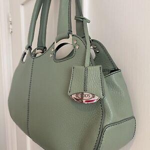 Tods Green Handbag