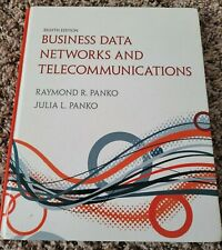 Business Data Networks and Telecommunications 8th Edition ISBN 978-0-12-610012-6