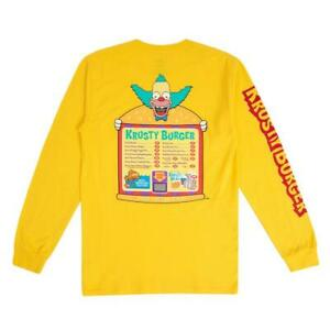 Vans 🔥 Simpsons Krusty Burger Shirt 🔥 Brand New - Free Domestic US Shipping!