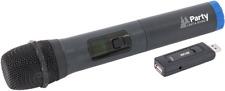 Micro Manos UHF adicional para sistema de sonido portátil o altavoz con