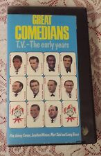 GREAT COMEDIANS - TV THE EARLY YEARS - COSBY, HOPE, PRYOR, BENNY VHS COMEDY NR