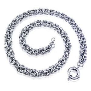 316L stainless steel Men women 50-90cm Length necklace Curb manual Chain