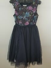 THE CHILDREN'S PLACE Girl's Size 8 Blue Dress Lace Tulle Fancy Party NWT