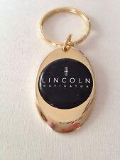 Lincoln Navigator Black Emblem Keychain Solid Brass Key Chain Personalized Free