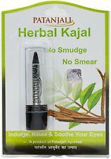 Patanjali Herbal Kajal Eyeliner Waterproof No Smudge Safe Eyes 3 g