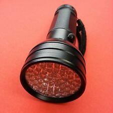 JaaU UV LED Flashlight 51 LED Scorpion Detector Finder Ultra Violet Blacklight