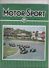 MOTOR SPORT JULY 1964 - Le Mans / Belgian GP / Dutch GP