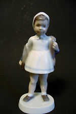 "**B & G** - Bing Grondhal Porcelain Figurine # 2387 - Made in Denmark - 7"" tall"