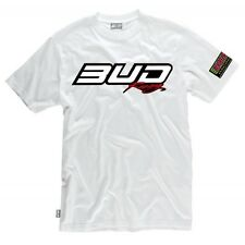 TEE SHIRT BUD RACING 2014 BLANC 85 125 250 CR RM YZ KX / L