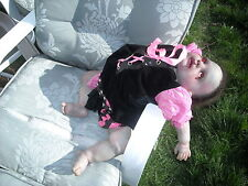 talk about dead weight 10lb 1 oz reborn horror zombie girl baby child toddler