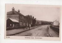 Tavistock Road Princetown Devon Vintage RP Postcard 553b