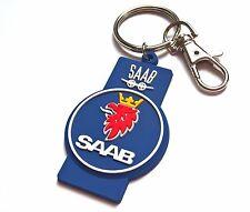 SAAB Schlüsselanhänger 93 95 Aero gummi emblem Top Qualität
