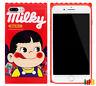 Fujiya Milky Peko Chan Candy Cute Girl Phone Case For iPhone 8 7 Plus 6S 6 (US)